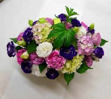 紫陽花を使ったパー…